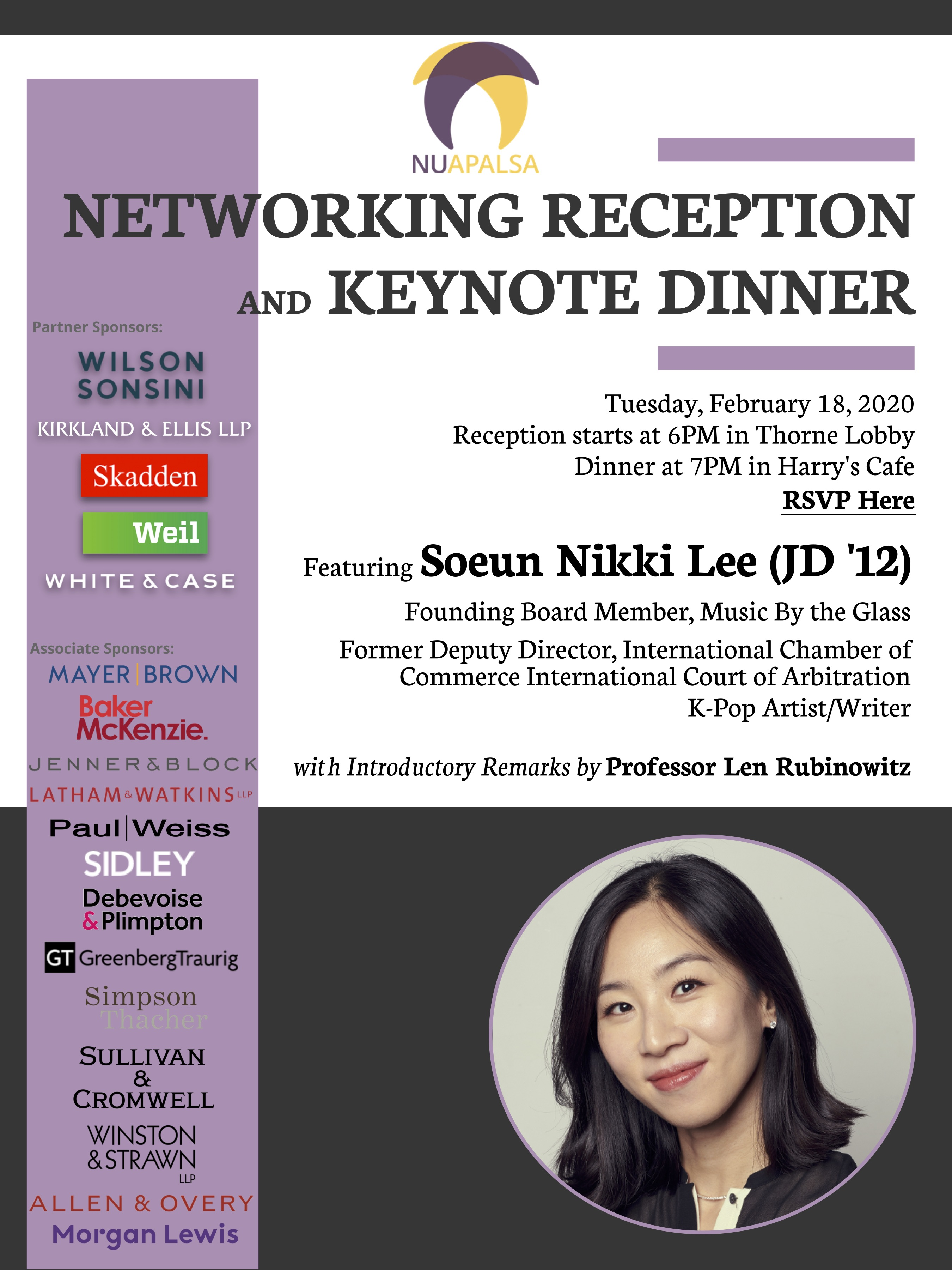 APALSA Keynote Dinner and Networking Reception (1)